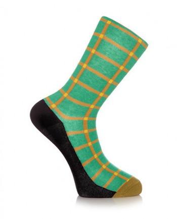 Joromi! - Shuka Print Green Socks