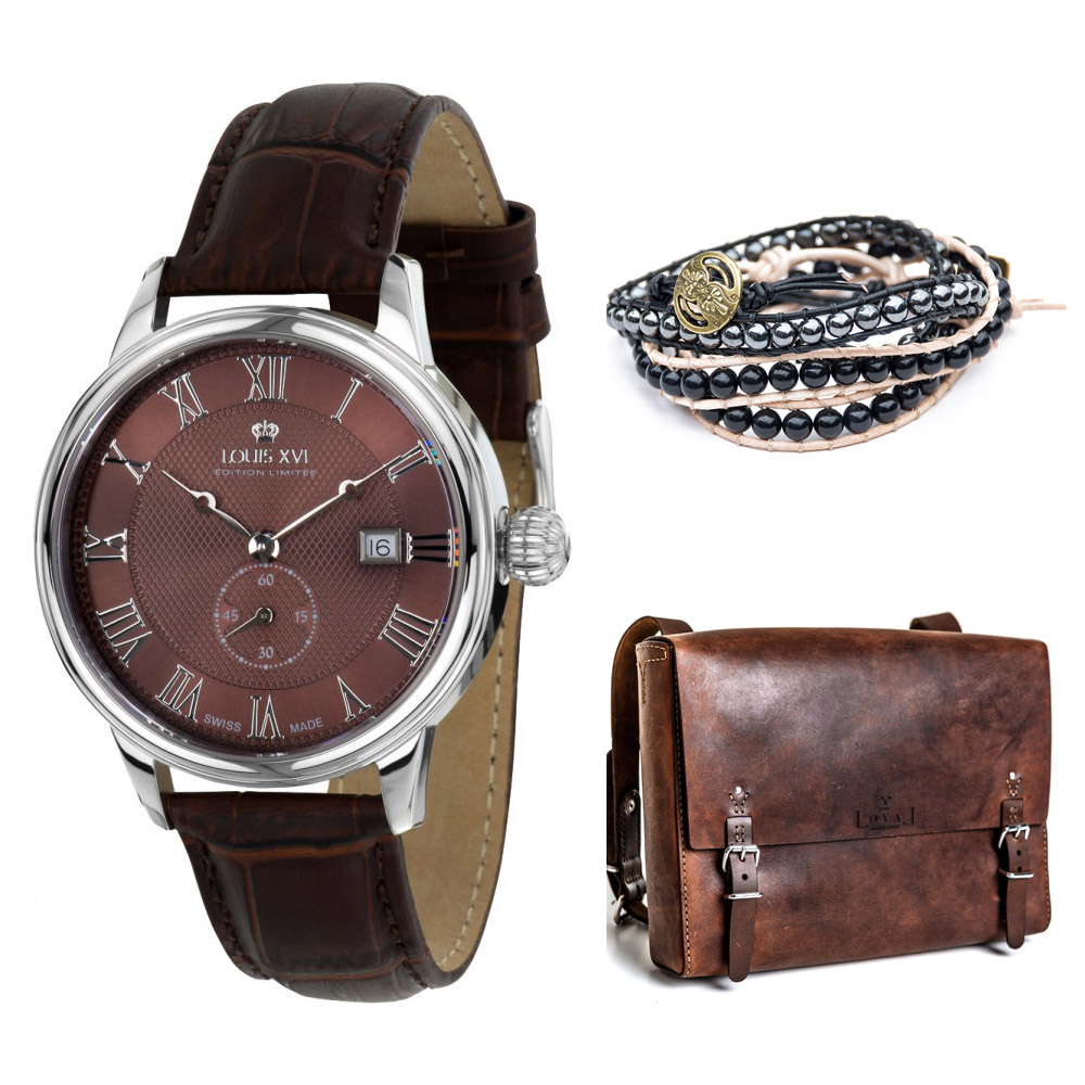 QDSMQ2-16-68 - Louis XVI Watch - QD Braclet - TLW Bag