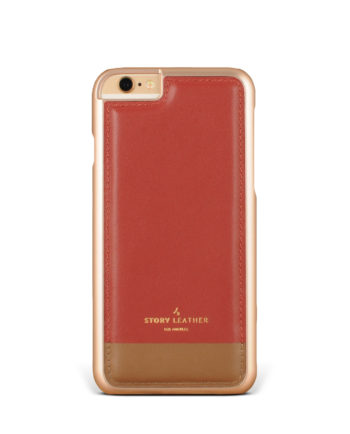 Slate Accent iPhone 6S Leather Phone Cover