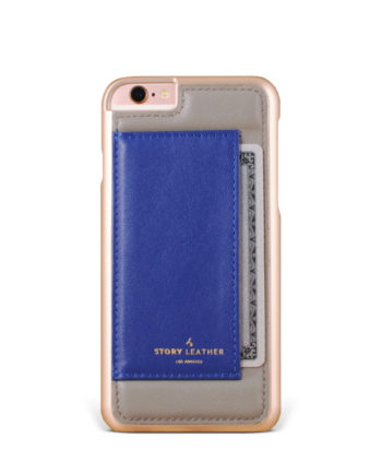 Slate ID iPhone 6S Leather Phone Cover